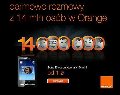 Darmowe Minuty Orange 909